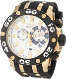 Invicta Men's Subaqua Chrono 500m Stainless Steel Black Polyurethane Watch 0915
