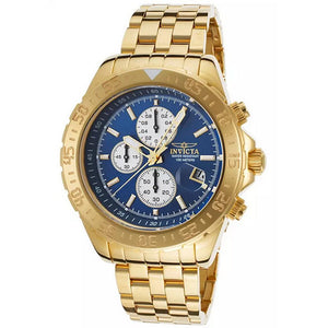 Invicta Men's Aviator Chronograph 100m Gold Plated Stainless Steel Watch 18855