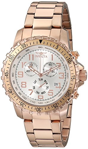 Invicta Men's Specialty Quartz Chronograph Stainless Steel Watch 11368