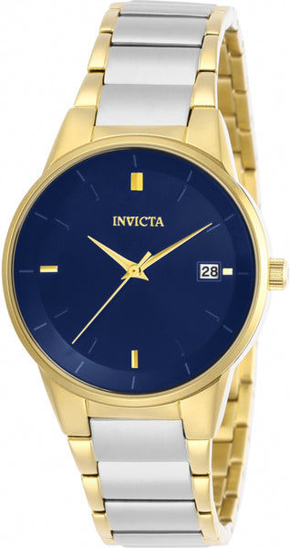 Invicta Women's Specialty Quartz Blue Dial Two Tone Stainless Steel Watch 29489