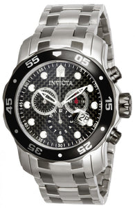 Invicta Men's Pro Diver Chronograph 200m Two Toned Stainless Steel Watch 14339