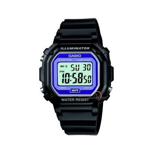 Casio Kids Black Chronograph Watch F-108WHC-1BCF