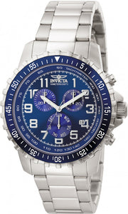 Invicta Men's Specialty Quartz Chronograph Blue Dial Watch 6621