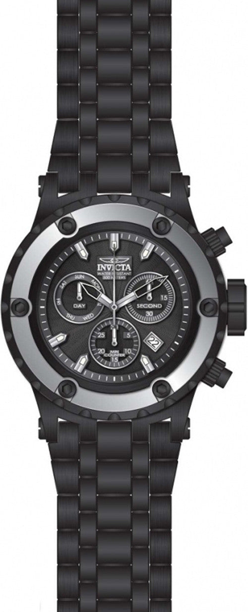 Subaqua Black Stainless Steel Watch