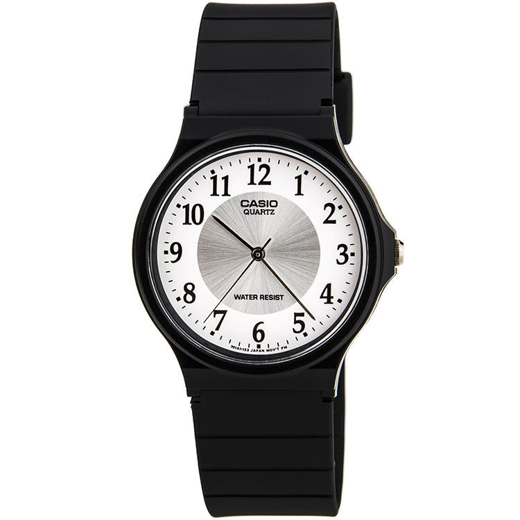 womans round face watch