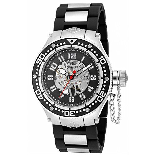 Invicta Men's Corduba Mechanical Stainless Steel Polyurethane Watch 17245