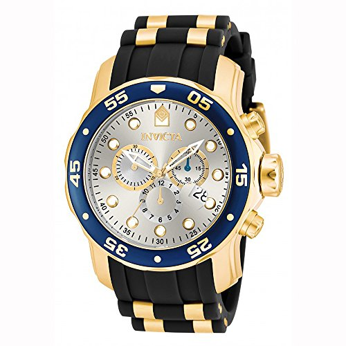 Invicta Men's Pro Diver Chrono 200m Stainless Steel Polyurethane Watch 17880