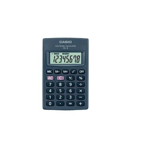 Casio Big Display 8 Digit Calculator Hl4