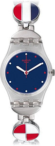 Swatch Women's Marinette Analog Quartz Stainless Steel Watch LK344G