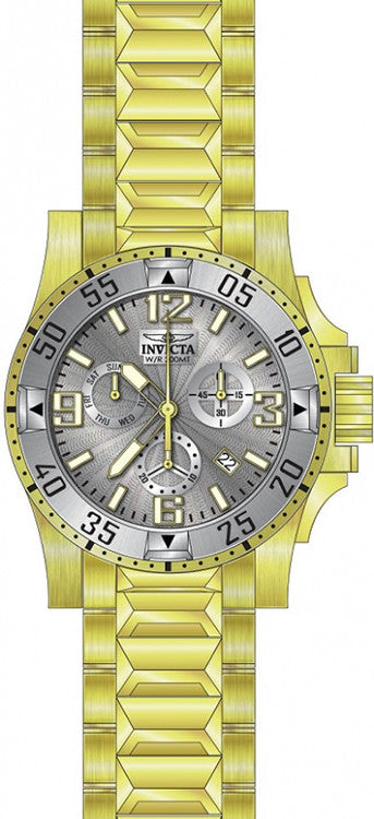 Invicta Men's Excursion Quartz Chronograph Silver Dial Watch 23905