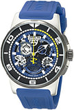 Invicta Men's Reserve Chronograph 100m  Stainless Steel and Silicone Watch 18946