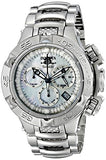 Invicta Women's Subaqua Chronograph 500m Silver Tone Stainless Steel Watch 17219