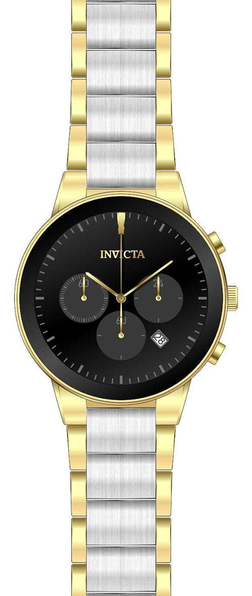 Invicta Men's Specialty Quartz Chronograph Two Tone Stainless Steel Watch 29478