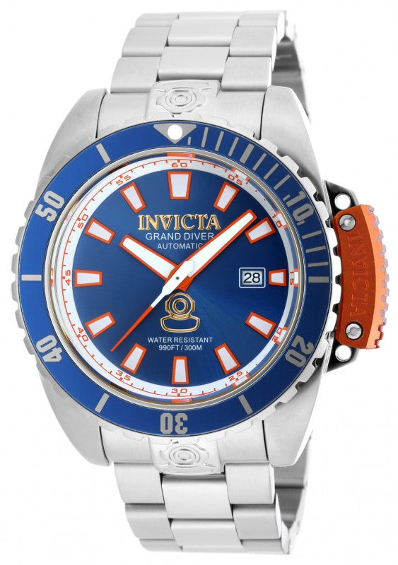 Invicta Men's Pro Diver Analog Automatic 300m Stainless Steel Watch 19866