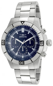 Invicta Men's Specialty Chronograph Analog Quartz Stainless Steel Watch 12840
