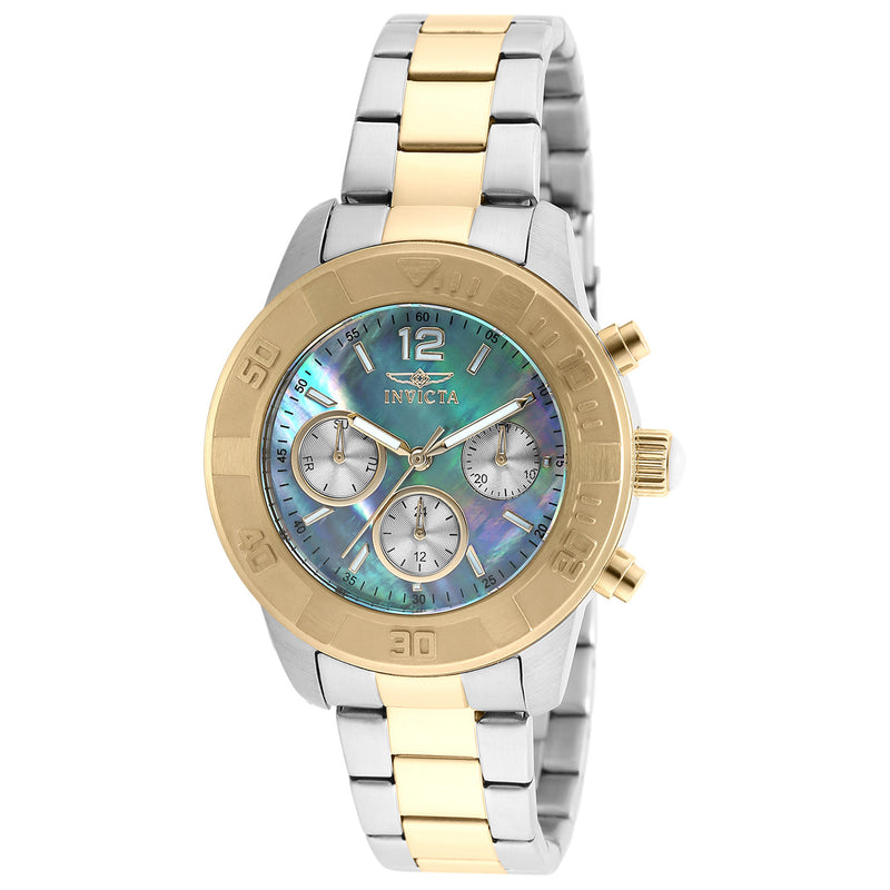 Invicta Women's 21613 Angel Quartz Chronograph Platinum Dial Watch