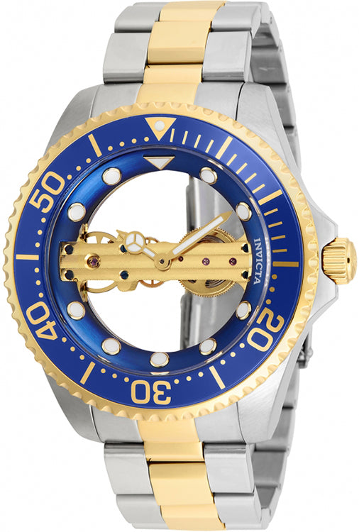 Invicta Men's Pro Diver Mechanical 100m Two Tone Stainless Steel Watch 26243