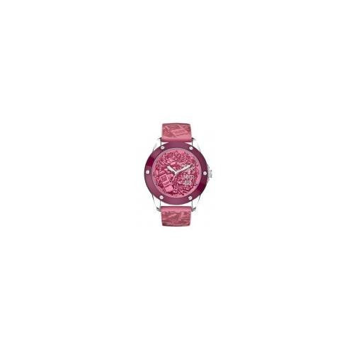 Marc Ecko Men's Pink Silcione Analog Watch E09530G5 [Watch]