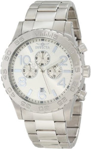 Invicta Men's Specialty Chronograph Analog Quartz Stainless Steel Watch 1269