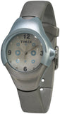 Timex Kids' Analog Quartz Stainless Steel Grey Rubber Watch T79451