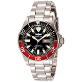 Invicta Men's Signature Automatic 200m Black Dial Stainless Steel Watch 7043