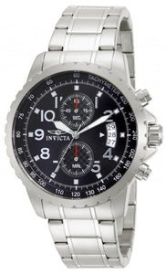 Invicta Men's Specialty Chronograph Analog Quartz Stainless Steel Watch 13783