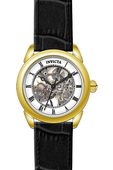 Invicta Women's 28924 Angel Quartz 3 Hand Silver, White Dial Watch