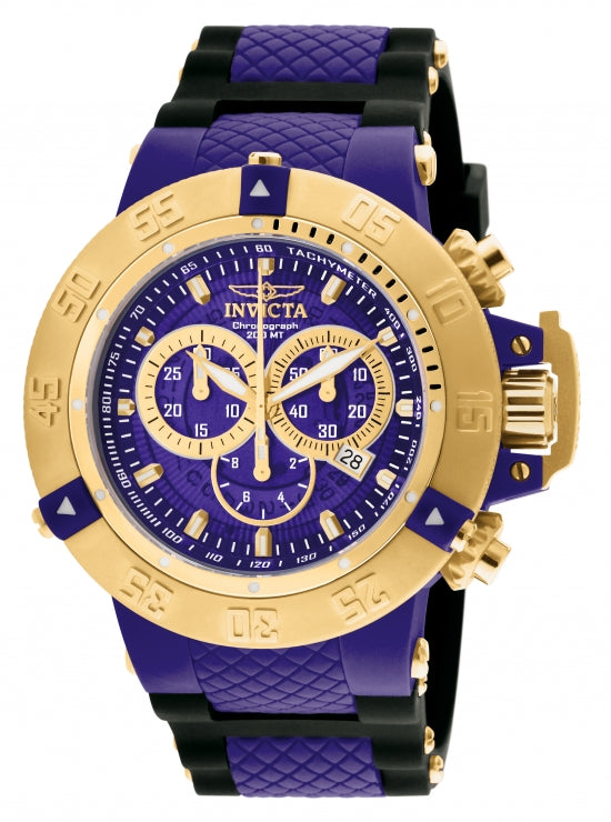 Invicta Men's 0929 Subaqua Quartz Chronograph Blue Dial Watch