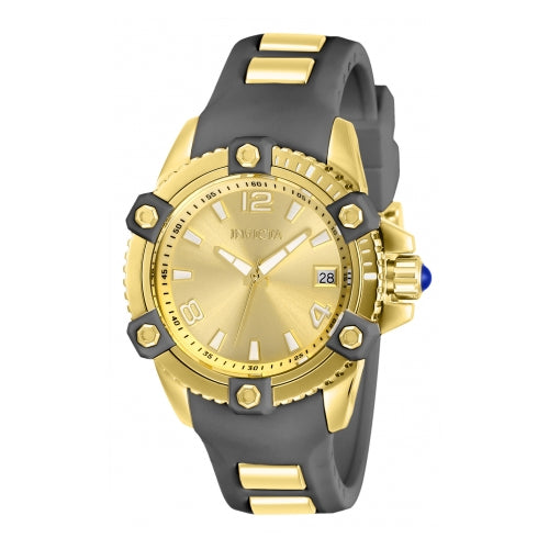 Invicta Women's Pro Diver Quartz Stainless Steel Gray Silicone Watch 27974