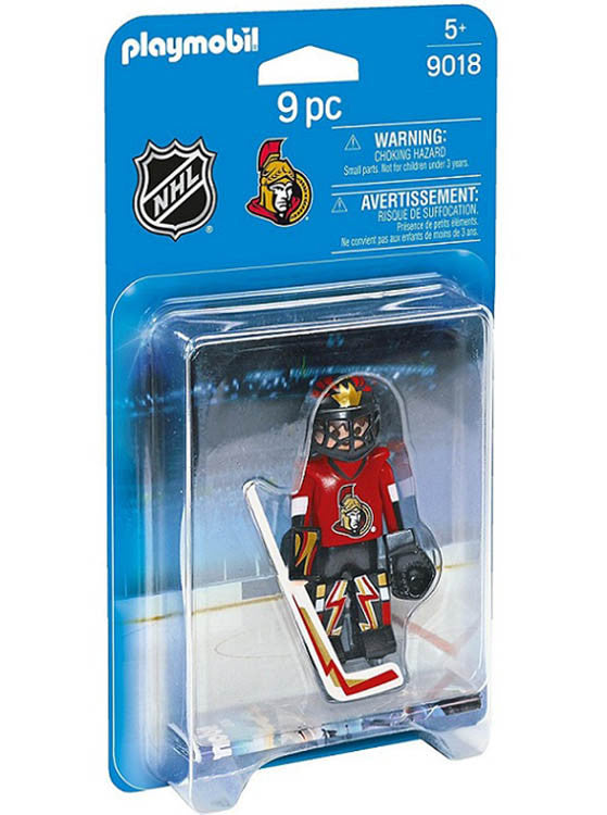 Ottawa Senators Goalie Playset