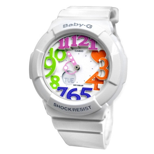 Casio Baby-G Neon Dial Series Women's Watch BGA-131-7B3JF (Japan Import)