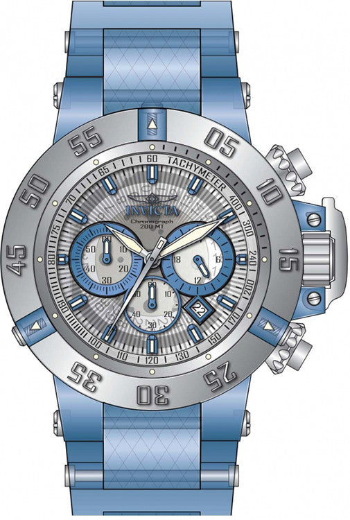 Light Blue Watch