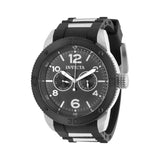 Invicta Men's Specialty Chrono Stainless Steel Black Polyurethane Watch 15809