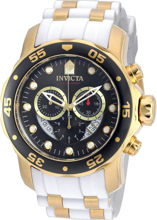 Invicta Men's Pro Diver Chrono 100m Stainless Steel Polyurethane Watch 20289
