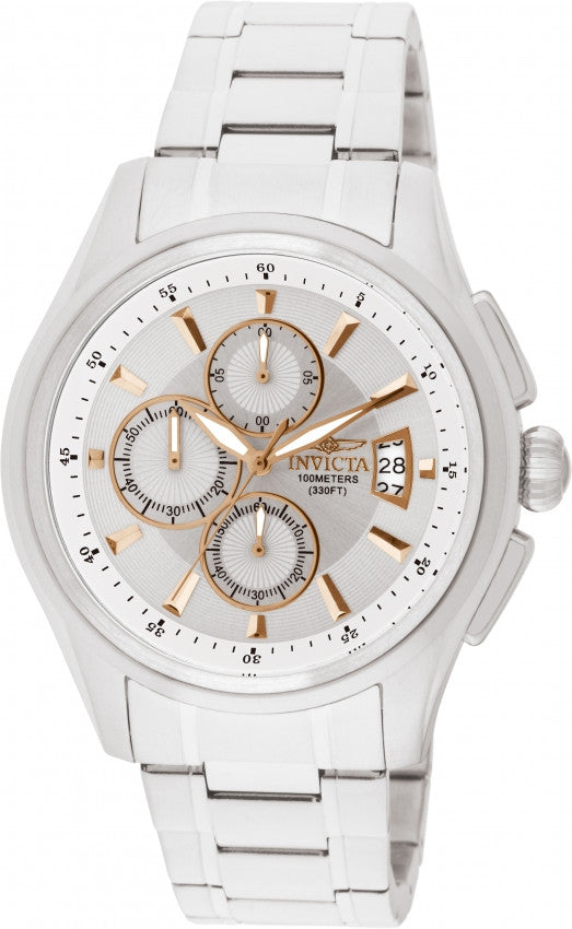 Invicta Men's Specialty Quartz Chronograph 100m Stainless Steel Watch 1481