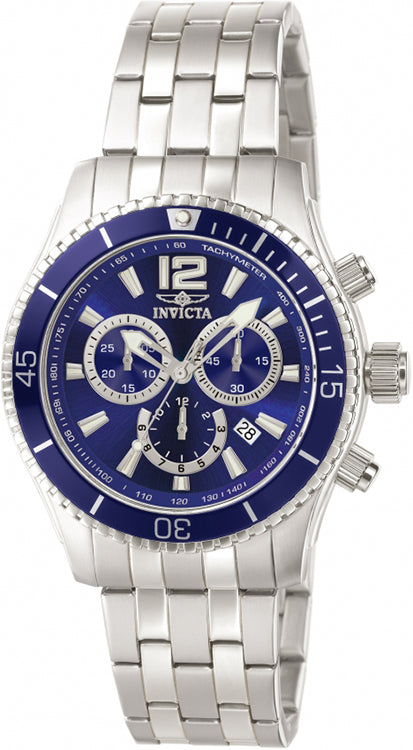 Invicta Men's Specialty Quartz Chronograph 100m Stainless Steel Watch 0620