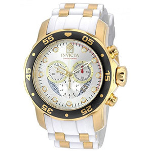 Invicta Men's Pro Diver Chrono 100m Stainless Steel Polyurethane Watch 20292