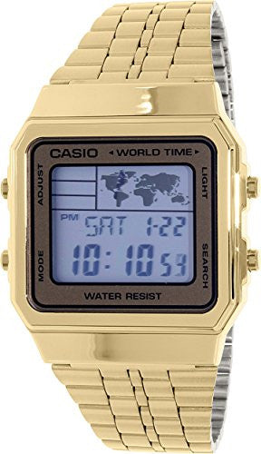 Casio Watch World Time Alarm Map Display