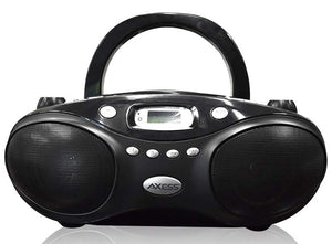 Axess Portable Thunder Blast CD Player AM/FM Bluetooth Boombox PBBT3862