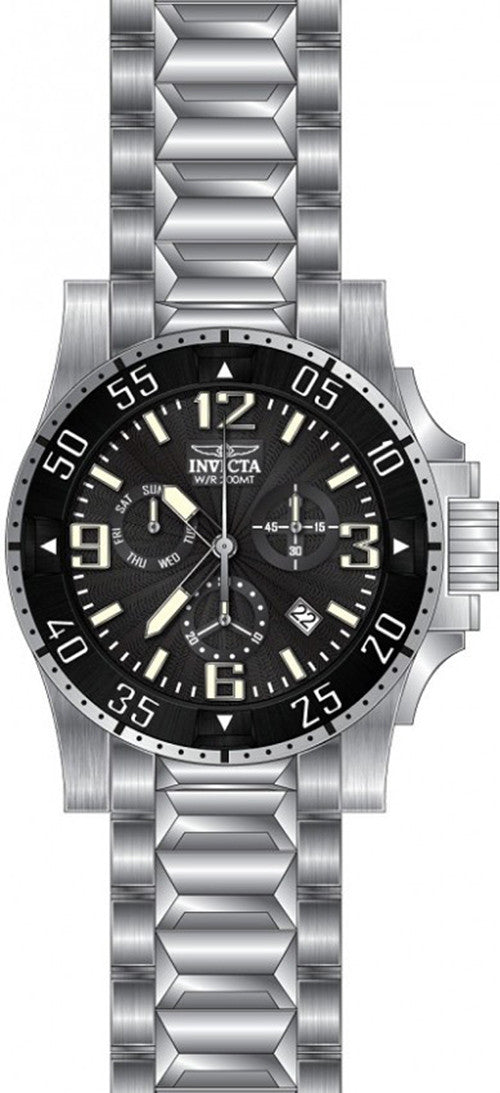 Invicta Men's Excursion Chrono Swiss Quartz 200m Stainless Steel Watch 23900