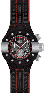 Invicta Men's S1 Rally Chrono Stainless Steel, Leather, Polyurethane Watch 19175