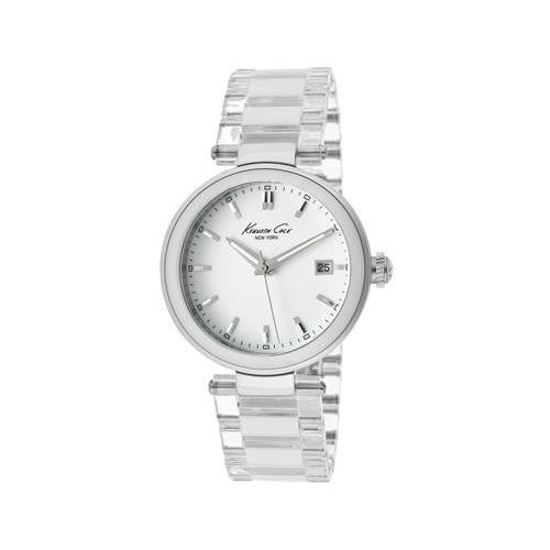 Kenneth Cole New York Women's KC4730 Transparency Classic See-Thru Dial Round Case Watch