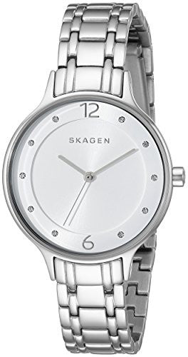 Skagen Women's SKW2320 Anita Analog Display Analog Quartz Silver Watch