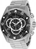 Invicta Men's Excursion Quartz Chronograph 200m Stainless Steel Watch 24261
