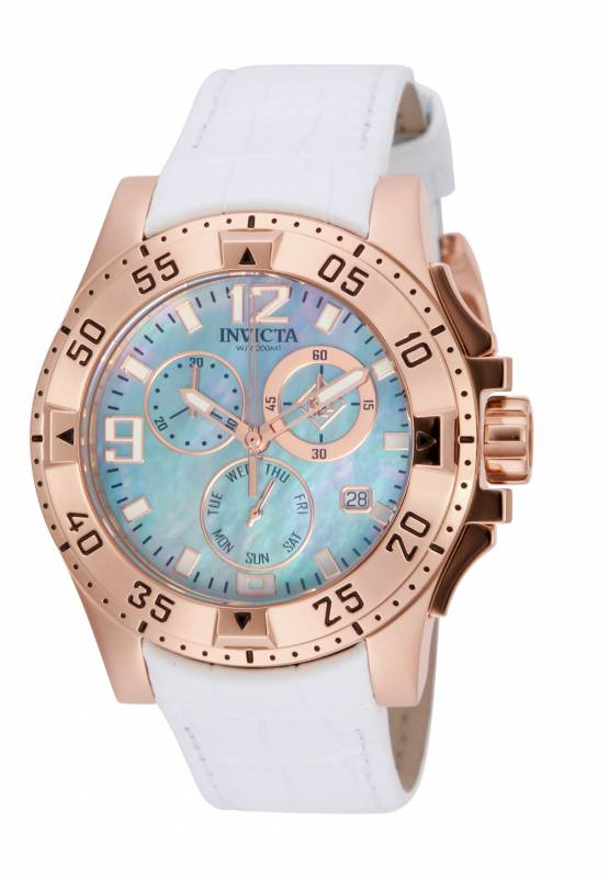 Invicta Women's Excursion Quartz Chronograph Stainless Steel Watch 16100
