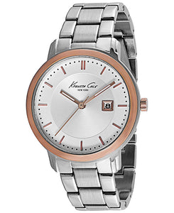 Kenneth Cole NY Men's Analog Quartz Stainless Steel Watch KCW3049