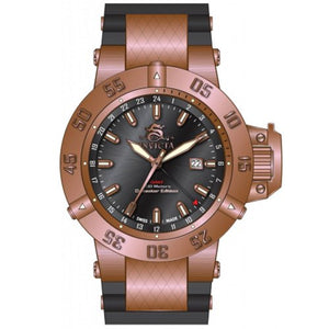 Invicta Men's Subaqua 500m GMT Rose Gold Plated Stainless Steel Watch 80427