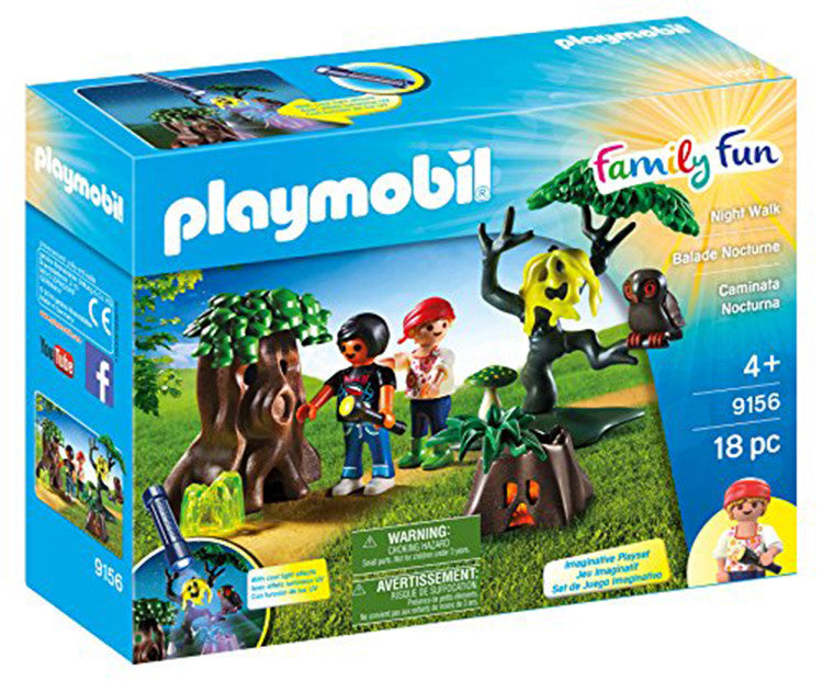 PLAYMOBIL Night Walk Playset 9156