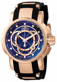 Invicta Men's S1 Rally Chrono Rose Gold Plated Stainless Steel Polyurethane 0901