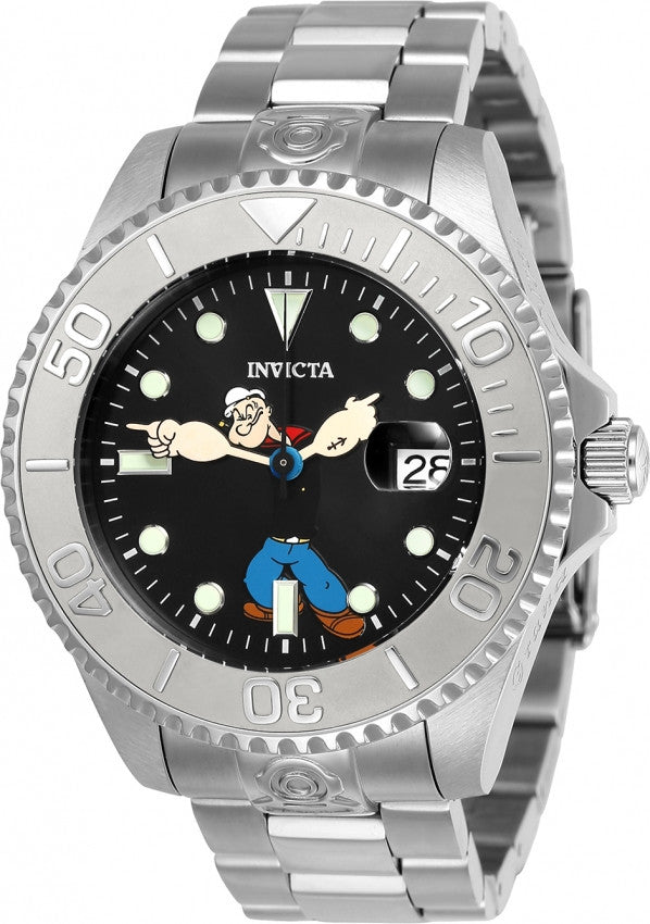 Invicta Men's Character Black Dial Watch 24470